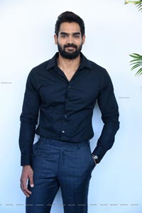 Karthikeya at Chaavu Kaburu Challaga Song Launch Event
