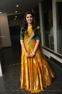 Krithi Shetty at Uppena Movie Pre-Release Event
