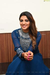 Lahari Shari at Zombie Reddy Pre-Release Event