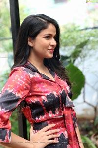 Lavanya Tripathi at A1 Express Movie Interview