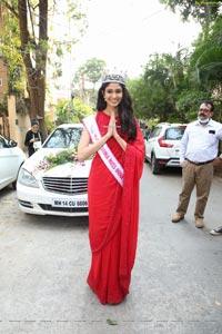 Femina Miss Miss India world 2020 Manasa Varanasi