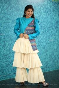 Singer Mangli at Radha Krishna Movie Pre-Release Event