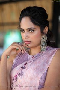 Nandita Swetha at Akshara Movie Interview