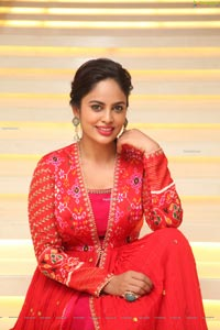 Nandita Swetha at Kapatadhaari Movie Pre-Release Event