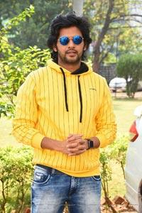 Naveen Polishetty at Jathi Ratnalu Movie Press Meet