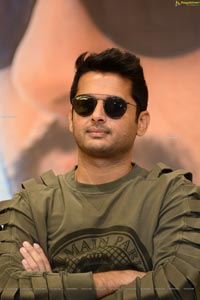 Nithiin at Check Movie Press Meet