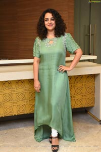 Nithya Menon at Ninnila Ninnila Movie Press Meet