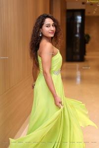 Pooja Ramachandran at Power Play Movie Pre-Release Event