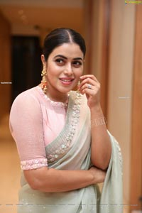 Poorna at Power Play Movie Pre-Release Event