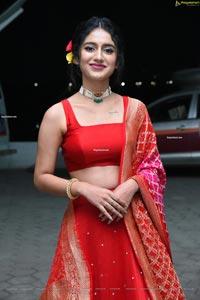 Priya Prakash Varrier at Check Movie Pre-Release Event
