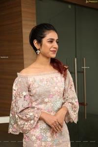 Priya Prakash Varrier at Check Movie Press Meet