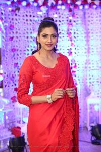 Shalu Chourasiya in Beautiful Red Saree