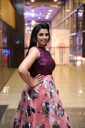 Shyamala at Roberrt Movie Pre-Release Event