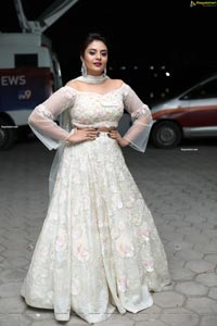 Sreemukhi at Check Movie Pre-Release Event