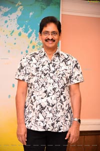 SV Krishna Reddy at Rangu Bommala Katha Movie Pooja Ceremony
