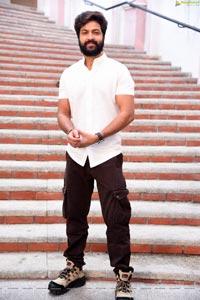 Syed Sohel Ryna at Rangu Bommala Katha Movie Pooja Ceremony