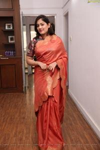 Tazaienath Gulraze Latest Stills in Silk Saree