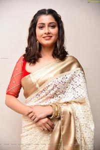 Urvasi Roy at Koushika Varma Dhamayanthi Trailer Launch