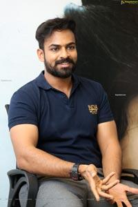 Vaisshnav Tej at Uppena Movie Interview