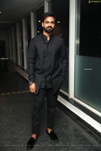 Vaishnav Tej at Uppena Movie Pre-Release Event