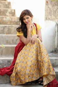 Sweta Singh in Yellow Embellished Lehenga With Jacket
