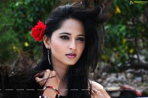 Anushka in Hot Black Dress