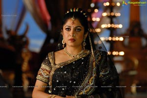 Ramya Krishnan in Saree