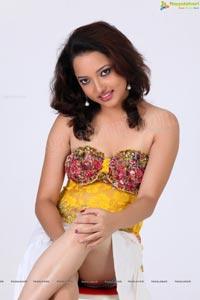Arya Rao in White Skirt