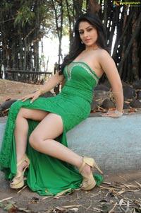 Ankita Sharma in Green Skirt