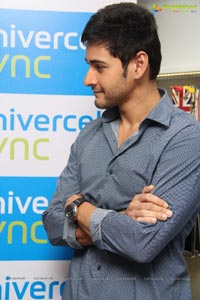 Mahesh Babu at Univercell Synch Store
