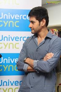 Mahesh Babu at Univercell Synch Store