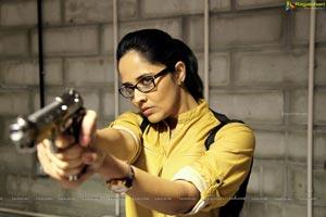 Anasuya in Telugu Film Kshanam