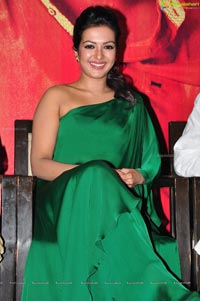Catherine Tresa in Green Dress