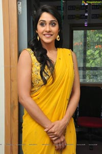 Regina Cassandra in Yellow Saree