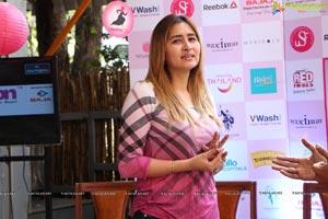 Jwala Gutta at Pinkathon 3rd Edition Pressmeet