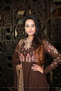Ameeksha Pawar at Diva Galleria Jewellery Fashion Show