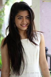 Rashmika Mandanna at Chalo Interview