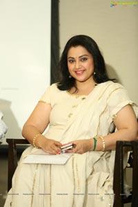 Meena @ TSR National Film Awards Pressmeet