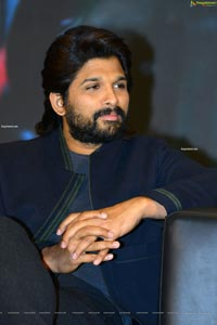 Allu Arjun at Ala Vaikunthapuramulo Success Meet