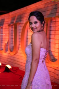 Anasuya Bharadwaj at Zee Cine Awards Telugu 2020