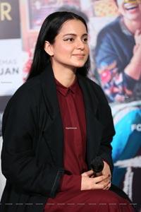 Kangana Ranaut at Panga Press Meet