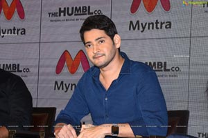 Mahesh Babu at The Humbl Co. Launch on Myntra