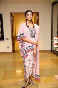 Manchu Lakshmi at Gaja Exhibition