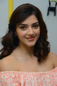 Mehrene Kaur Pirzada at Aswathama Interview