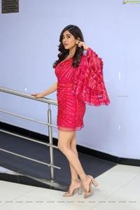 Nabha Natesh at Disco Raja 3rd Song Launch