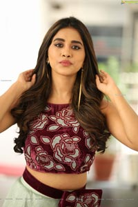 Nabha Natesh at Disco Raja Press Meet