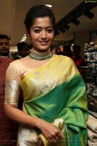 Rashmika Mandana at KLM Fashion Mall Vanasthalipu