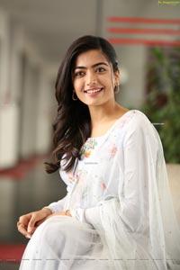 Rashmika Mandana at Sarileru Neekevvaru Interview