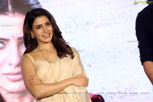 Samantha Akkineni at Jaanu Trailer Launch
