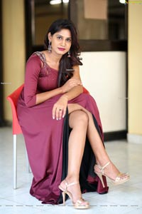 Sathwika Jain at Battala Ramaswamy Biopiku Press Meet
